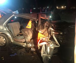 [DIEPSLOOT] - Taxi crashes into a car, killing one, injuring two
